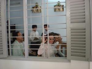 Tạ Phong Tần tại Thánh lễ dành riêng cho Gia đình truyền thông Chúa Cứu Thế (38 Kỳ Đồng, Q3, SG)