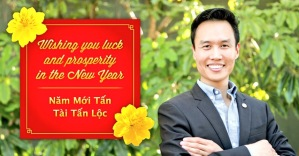 Ông Bảo Nguyễn - Thị trưởng Thành phố Garden Grove, California Chúc Mừng Năm Mới Bính Thân