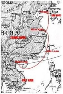 Hải trình từ VN sang Cao Ly (Hàn Quốc) năm 1226 của Hoàng thân Lý Long Tường